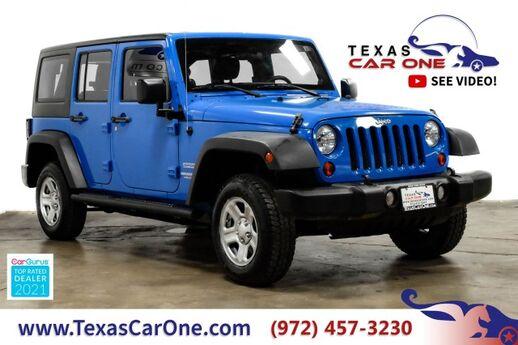 2011 Jeep Wrangler UNLIMITED SPORT 4WD AUTOMATIC HARD TOP CONVERTIBLE CRUISE CONTRO Carrollton TX