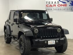 2011_Jeep_Wrangler_UNLIMITED SPORT 4WD SOFT TOP CONVERTIBLE CRUISE CONTROL ALLOY WH_ Carrollton TX