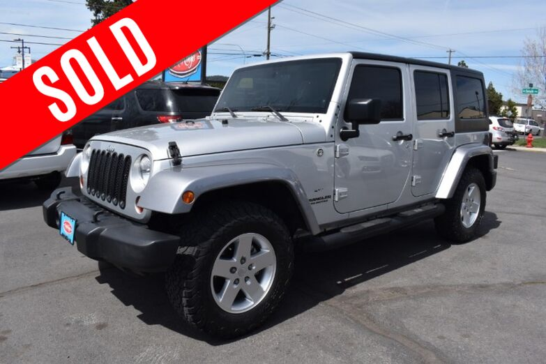2011 Jeep Wrangler Unlimited 4WD 4dr Sport Bend OR