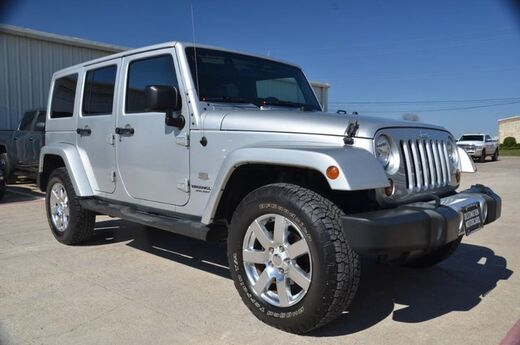 2011 Jeep Wrangler Unlimited 70th Anniversary Wylie TX