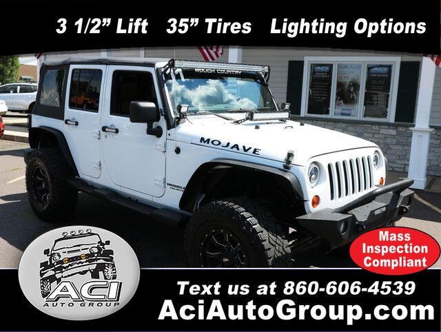 2011 Jeep Wrangler Unlimited Mojave East Windsor CT