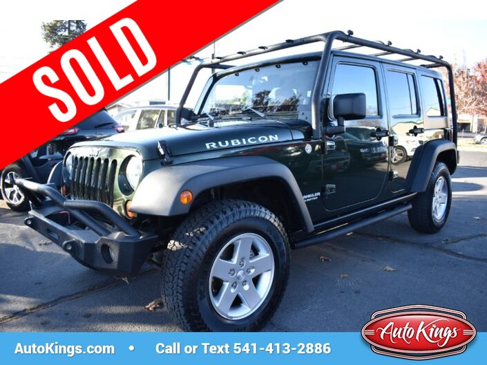 2011 Jeep Wrangler Unlimited Rubicon 4WD Bend OR