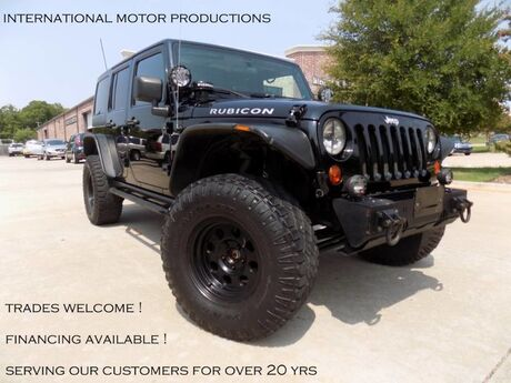 2011 Jeep Wrangler Unlimited Rubicon Loaded with Aft Mkt Features Carrollton TX