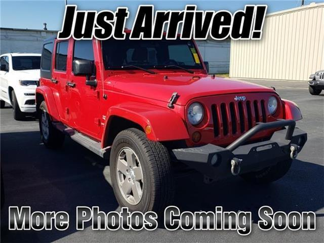 2011 Jeep Wrangler Unlimited Sahara 4x4 Burlington NC