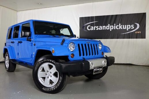 2011 Jeep Wrangler Unlimited Sahara Dallas TX