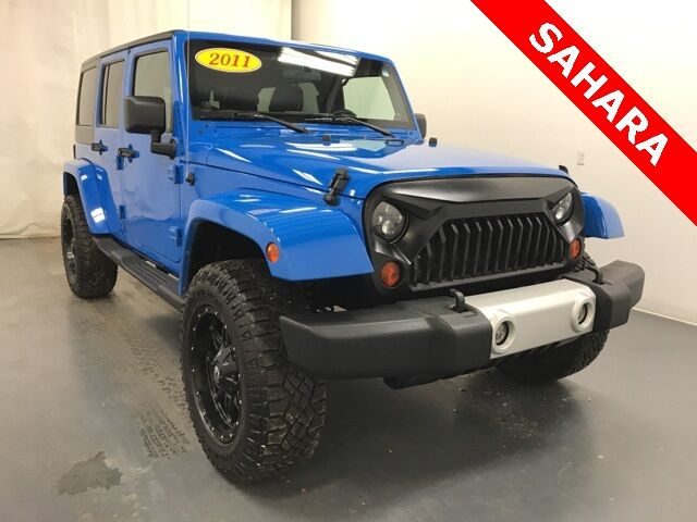 2011 Jeep Wrangler Unlimited Sahara Holland MI