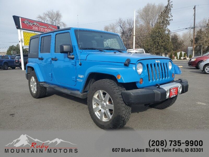 2011 Jeep Wrangler Unlimited Sahara Twin Falls ID