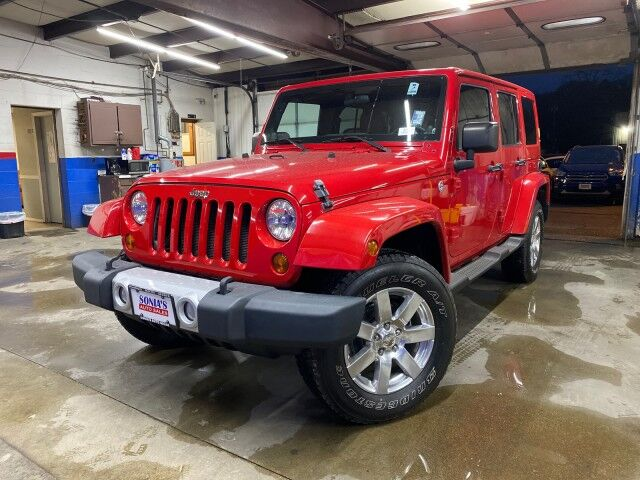 2011 Jeep Wrangler Unlimited Sahara Worcester MA