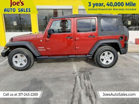 2011 Jeep Wrangler Unlimited Sport 4WD Indianapolis IN