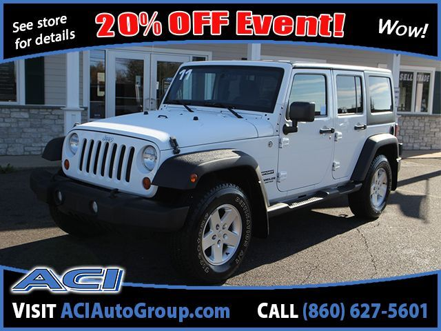 2011 Jeep Wrangler Unlimited Sport East Windsor CT