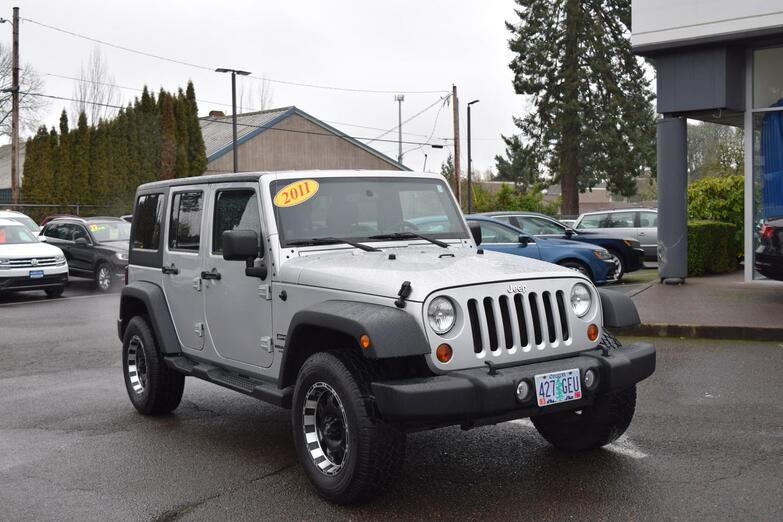 2011 Jeep Wrangler Unlimited Sport McMinnville OR