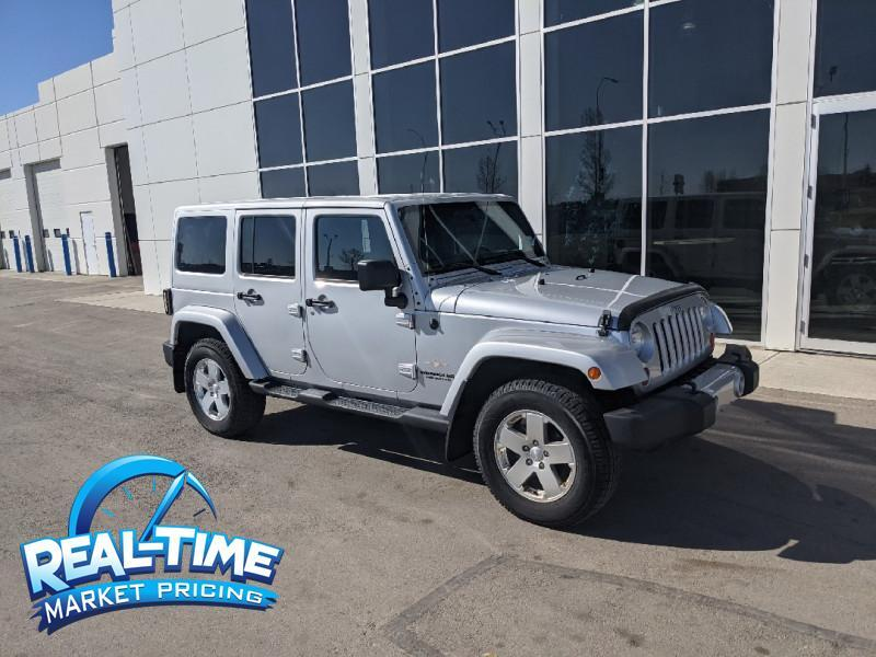 2011 Jeep Wrangler Unlimited Unlimited Sahara High River AB