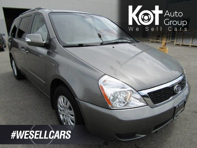 2011 Kia SEDONA LX! 7 PASSENGER! 1 OWNER! LOCALLY OWNED! BRAND NEW TIRES! FULLY INSPECTED! Kelowna BC