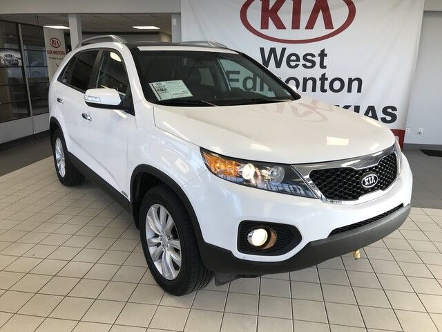 2011 Kia Sorento EX w/Snrf AWD V6 *BLUETOOTH/REARVIEW CAMERA/LEATHER HEATED SEATS* Edmonton AB