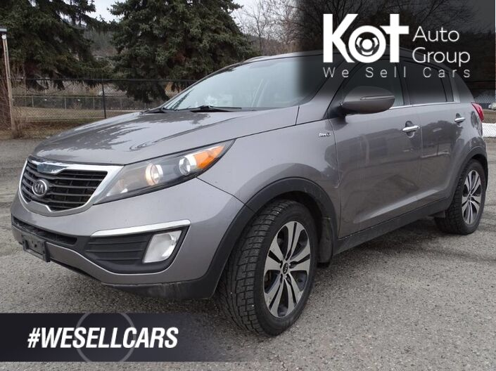 2011 Kia Sportage EX, Heated Seats, AWD Kelowna BC