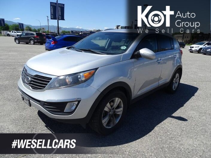 2011 Kia Sportage EX, Low KM's, NO ACCIDENTS!!! A/C, Satellite Radio, Heated Seats Kelowna BC