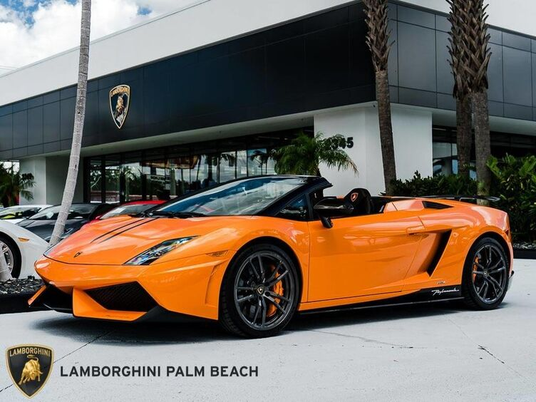 2011_Lamborghini_Gallardo_Spyder Performante_ Palm Beach FL