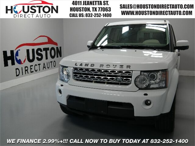2011 Land Rover LR4 V8 Houston TX