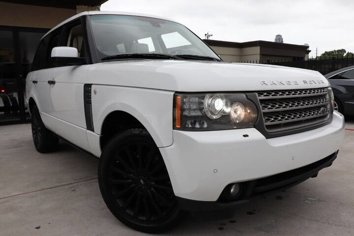 2011 Land Rover Range Rover SUPERCHARGED, REAR ENTERTAINMENT,Loaded ! Houston TX