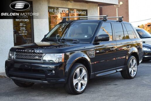 2011 Land Rover Range Rover Sport Supercharged Conshohocken PA