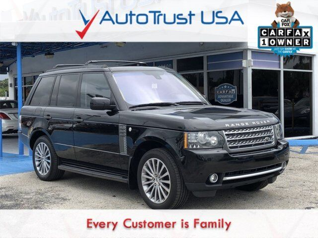 2011 Land Rover Range Rover Supercharged Miami FL