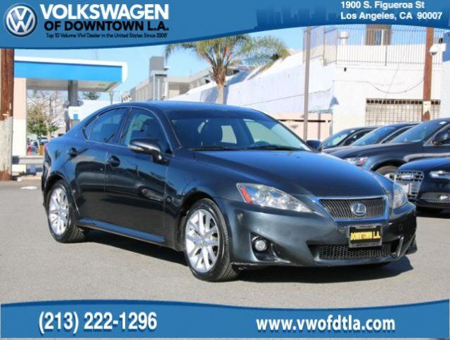 2011 Lexus IS 250  Los Angeles CA