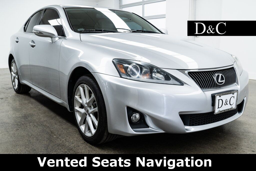 2011 Lexus IS 250 Vented Seats Navigation Portland OR