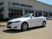2011_Lexus_IS C_250, NAVIGATION SYSTEM, BACK-UP CAMERA, FRONT COOLING/HEATED SEATS, LEATHER INTERIOR_ Plano TX