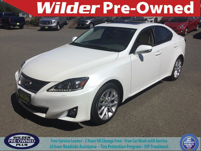 2011 Lexus IS350 Port Angeles WA