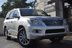 Lexus LX 570 Full-Time 4WD/Luxury Pkg w/ Navigation, Heated & Ventilated Seats, Cool Box, 20'' Wheels/Mark Levinson Audio/DVD Rear Entertainment/Intuitive Park Assist/Remote Engine Start 2011