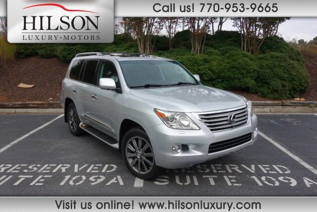2011 Lexus LX570 w/Luxury Package  Marietta GA
