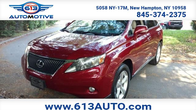 2011 Lexus RX 350 AWD Ulster County NY