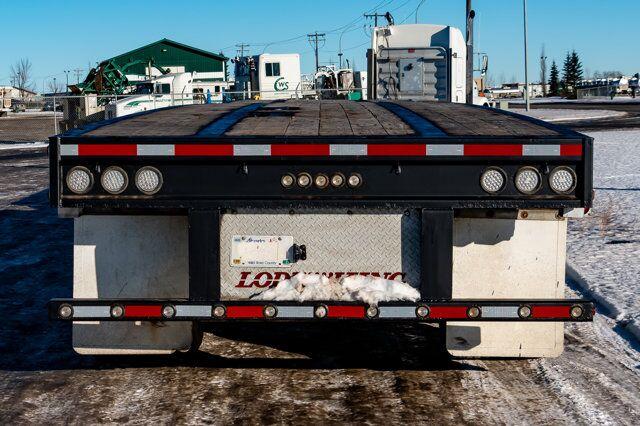 2011 Lode King Super B Flatdeck Trailers Red Deer AB