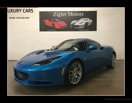 2011 Lotus Evora 2+2 6-Speed Manual only 2800 miles One Owner Garage kept ! like new! Addison TX