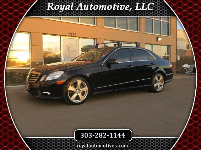 2011 MERCEDES-BENZ E-CLASS E350 Englewood CO