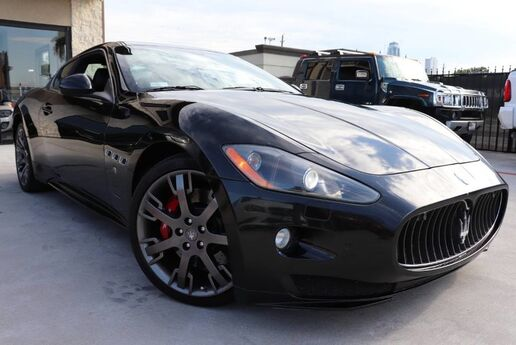 2011 Maserati GranTurismo S,CLEAN CARFAX,SHOWROOM CONDITION,LOW MILES! Houston TX