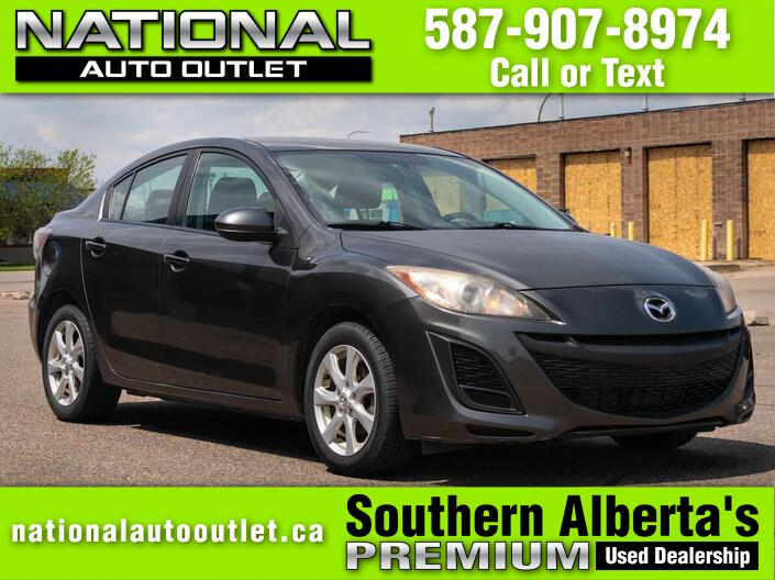 2011 Mazda 3 GX (A5) 4dr Sedan Lethbridge AB