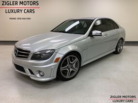 Mercedes-Benz C 63 V8 AMG Multimedia(Navigation) Pkg Black AMG seating 2011