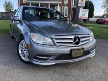 2011_Mercedes-Benz_C-Class_4-Matic-Sunroof-Alloys- New Tires-Htd Seats-Bluetooth_ London ON