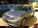 2011 Mercedes-Benz C-Class C 250 BLUETOOTH, LEATHER, SUNROOF