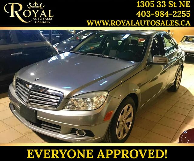 2011_Mercedes-Benz_C-Class_C 250 BLUETOOTH, LEATHER, SUNROOF_ Calgary AB