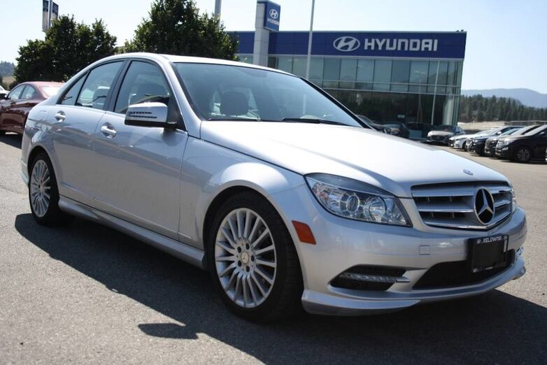 2011 Mercedes-Benz C-Class C 250 No Accident, Leather, Power seat, sunroof, Navigation Kelowna BC