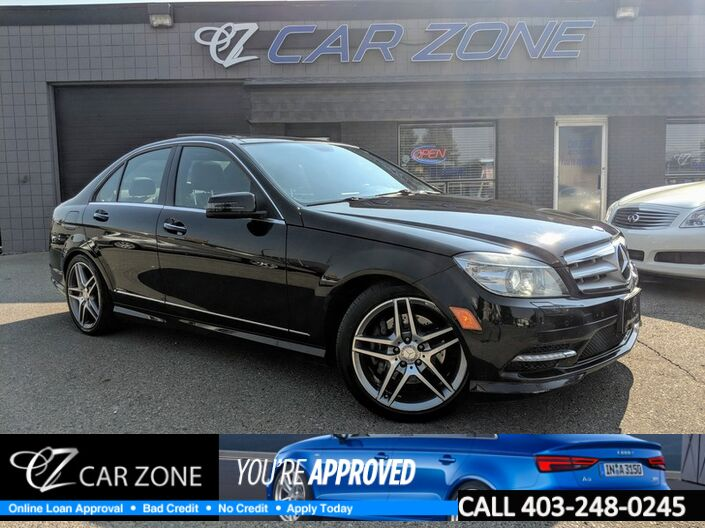 2011 Mercedes-Benz C-Class C 350 4MATIC, NAVI, PANOROOF, BACKUP CAM Calgary AB