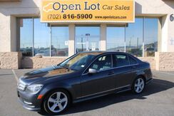 2011_Mercedes-Benz_C-Class_C300 4MATIC Sport Sedan_ Las Vegas NV