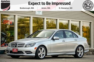 2011_Mercedes-Benz_C300_4Matic Sport_ Boxborough MA