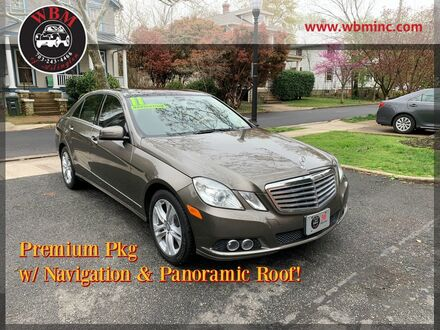 2011_Mercedes-Benz_E 350_4MATIC Luxury Sedan_ Arlington VA