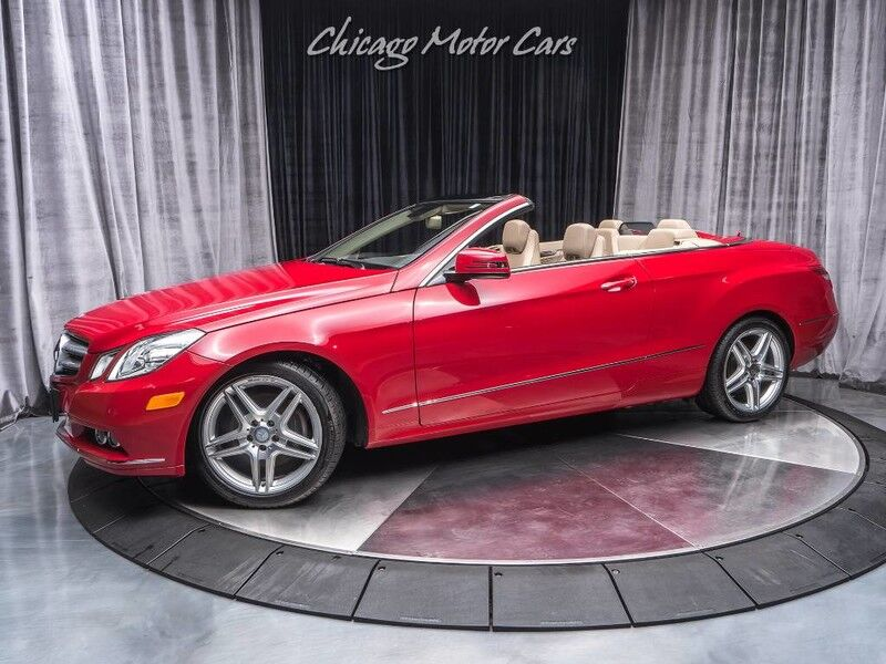 2011_Mercedes-Benz_E 350_Convertible_ Chicago IL