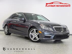 Mercedes-Benz E 63 AMG Premium 2 Pkg Pano Nav Back Up Cameras Fully Loaded Carfax Certified 2011