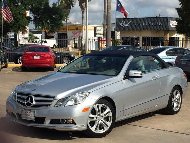 2011_Mercedes-Benz_E-Class_E 350_ Houston TX