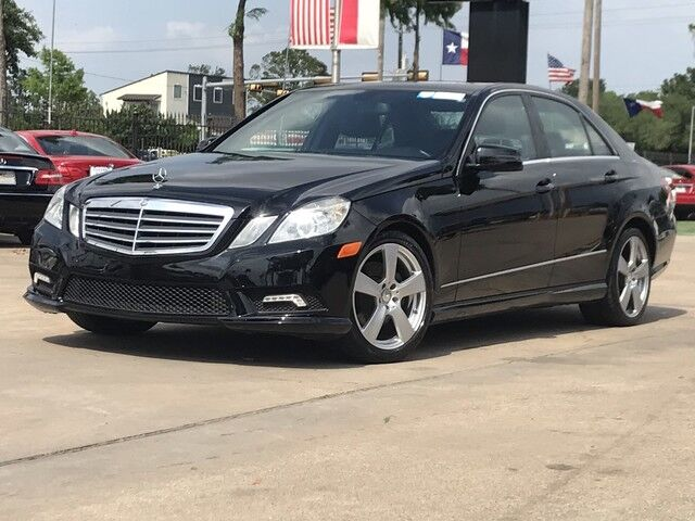 2011_Mercedes-Benz_E-Class_E 350 Luxury_ Houston TX